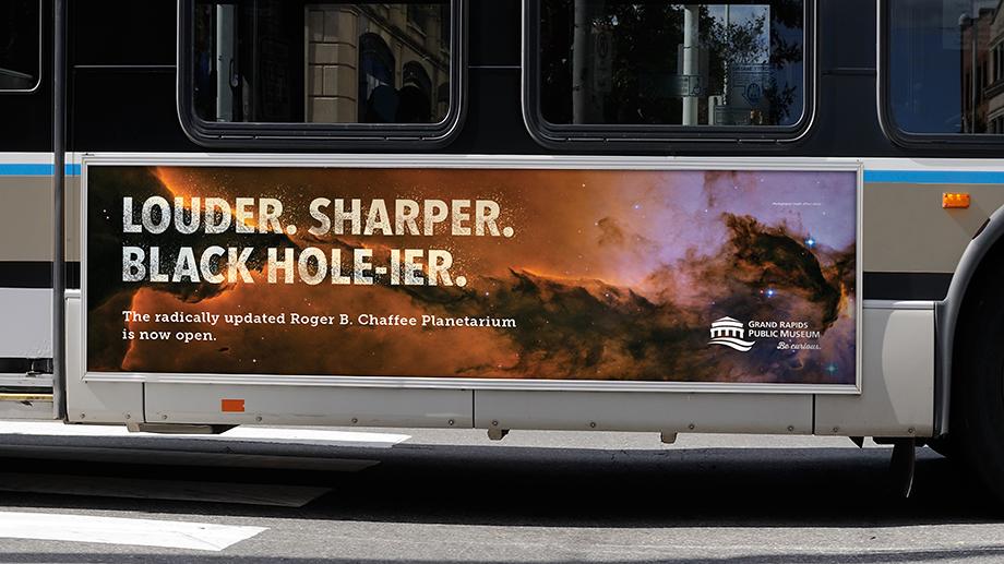 Transit ads brought a bang to the city. A big bang.