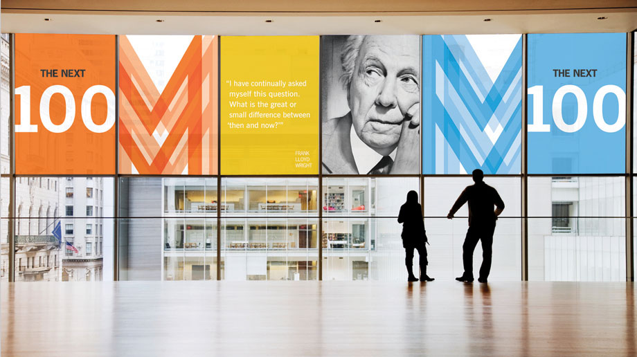 Environmental graphics for the internal Steelcase event.