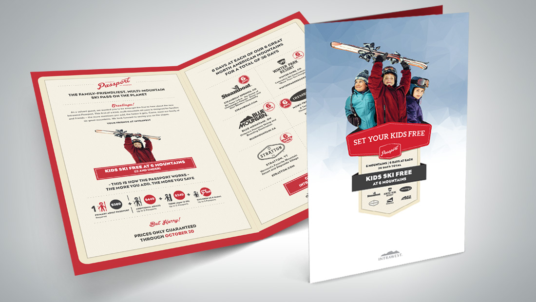 Design and production of a highly-targeted direct mail brochure.