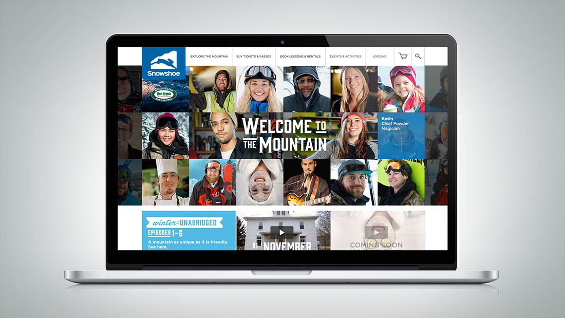 On the landing page, the friendliest mountain around gave you the inside track.