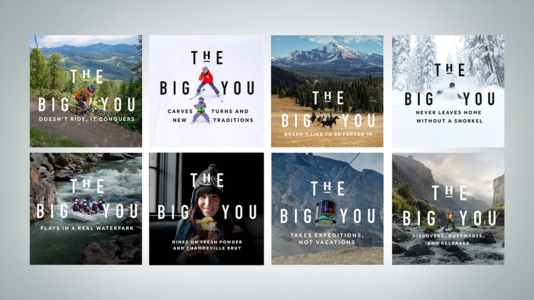 The Big You works year-round, and establishes a new brand voice of confidence and humor.